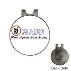 Madd Hat Clip With Golf Ball Marker
