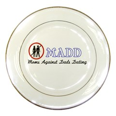 Madd Porcelain Display Plate