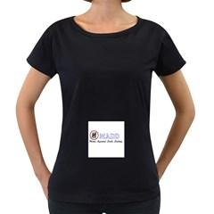 Madd Black Oversized Womens'' T-shirt