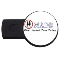 Madd 4Gb USB Flash Drive (Round)