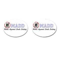 Madd Oval Cuff Links