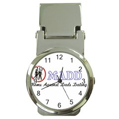 Madd Chrome Money Clip with Watch