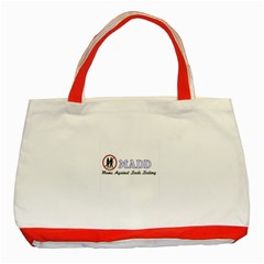 Madd Red Tote Bag