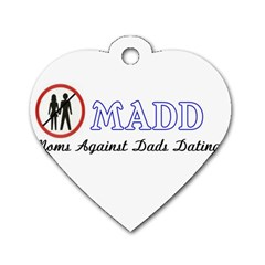 Madd Twin-sided Dog Tag (Heart)