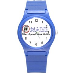 Madd Round Plastic Sport Watch Small