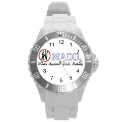 Madd Round Plastic Sport Watch Large