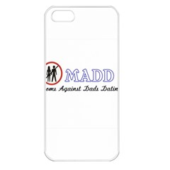 Madd Apple iPhone 5 Seamless Case (White)