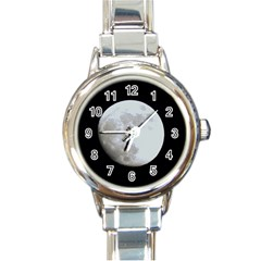 Moon Classic Elegant Ladies Watch (round)