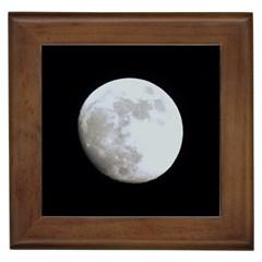 Moon Framed Ceramic Tile