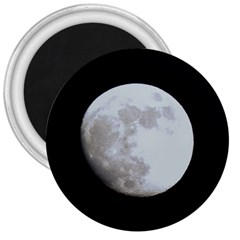 Moon Large Magnet (Round)