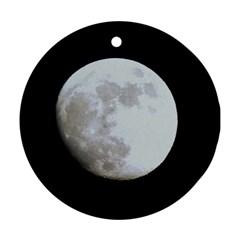 Moon Ceramic Ornament (round)