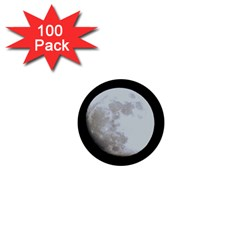 Moon 100 Pack Mini Button (round)