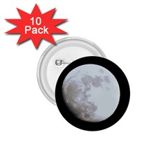 Moon 10 Pack Small Button (Round)