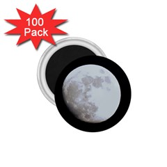 Moon 100 Pack Small Magnet (round)