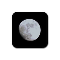Moon 4 Pack Rubber Drinks Coaster (Square)