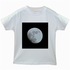 Moon White Kids'' T-shirt