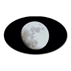 Moon Large Sticker Magnet (Oval)