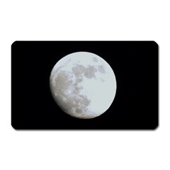 Moon Large Sticker Magnet (Rectangle)