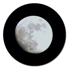 Moon Extra Large Sticker Magnet (round)