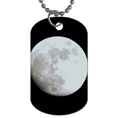Moon Single-sided Dog Tag