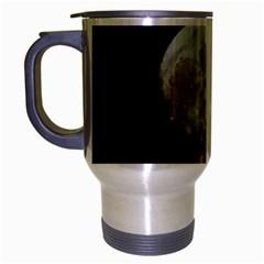 Moon Brushed Chrome Travel Mug