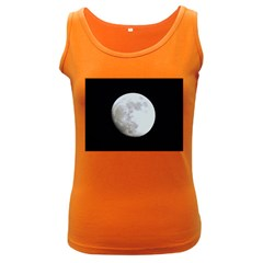 Moon Dark Colored Womens'' Tank Top