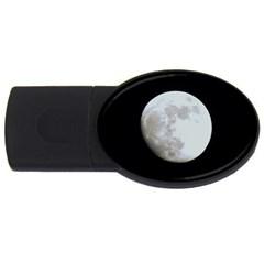 Moon 4Gb USB Flash Drive (Oval)