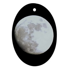 Moon Oval Ornament (two Sides)