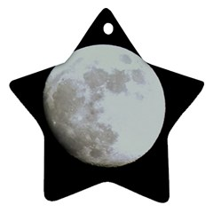 Moon Twin-sided Ceramic Ornament (Star)