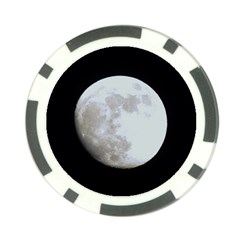 Moon Poker Chip