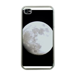 Moon Apple iPhone 4 Case (Clear)