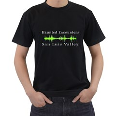 Green Twin-sided Black Mens'' T-shirt