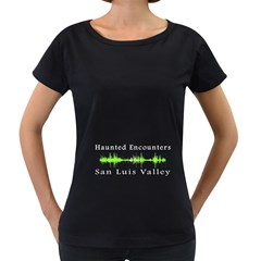Green Black Oversized Womens'' T-shirt