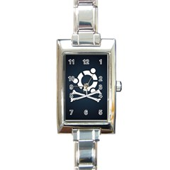Ubuntu Bone Classic Elegant Ladies Watch (Rectangle)