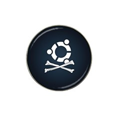 Ubuntu Bone 4 Pack Golf Ball Marker (for Hat Clip)