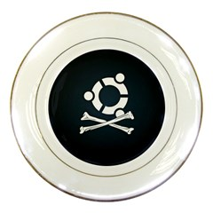 Ubuntu Bone Porcelain Display Plate