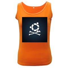 Ubuntu Bone Dark Colored Womens'' Tank Top