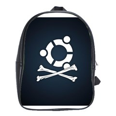 Ubuntu Bone Large School Backpack