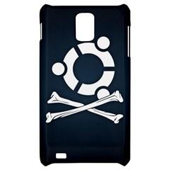 Ubuntu Bone Samsung Infuse 4G Hardshell Case