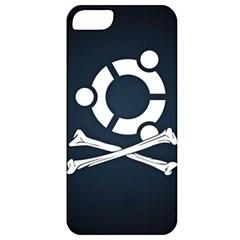 Ubuntu Bone Apple iPhone 5 Premium Hardshell Case