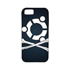 Ubuntu Bone Apple Iphone 5 Classic Hardshell Case (pc+silicone)