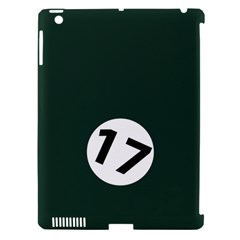 British Racing Green Apple iPad 3/4 Hardshell Case (Compatible with Smart Cover)