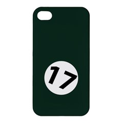 British Racing Green Apple Iphone 4/4s Premium Hardshell Case