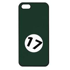 British Racing Green Apple iPhone 5 Seamless Case (Black)