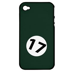 British Racing Green Apple Iphone 4/4s Hardshell Case (pc+silicone)