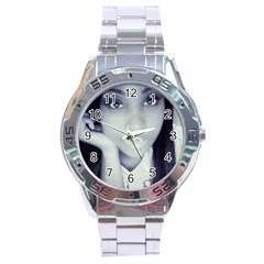 388243 10150363902886169 605096168 8311024 1020004711 N Stainless Steel Analogue Watch (round)