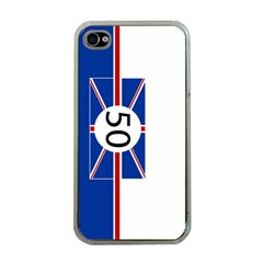 Uk Apple iPhone 4 Case (Clear)