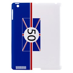 Uk Apple iPad 3/4 Hardshell Case (Compatible with Smart Cover)
