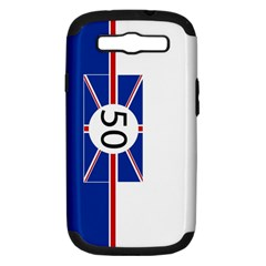 Uk Samsung Galaxy S Iii Hardshell Case (pc+silicone)