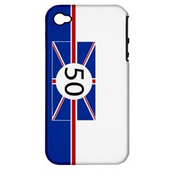 Uk Apple iPhone 4/4S Hardshell Case (PC+Silicone)